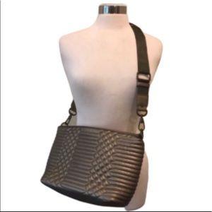 Sydney Love metallic crossbody bag